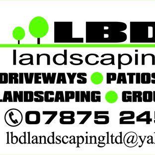 LDB Landscaping Ltd Site Boards