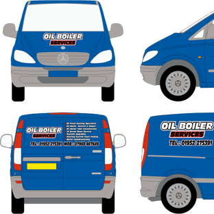 Oil Boiler Services Vito Van