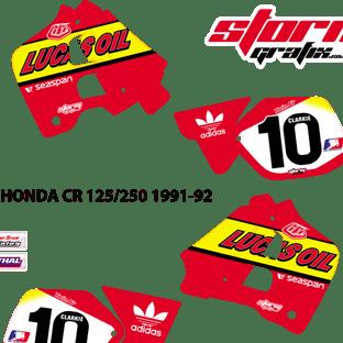 Honda CR 125 250 1991 92