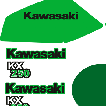Kawasaki KX 1979 a5 Full Kit