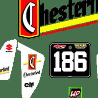 Evo Suzuki RM125 250 1989 Chesterfield Kit