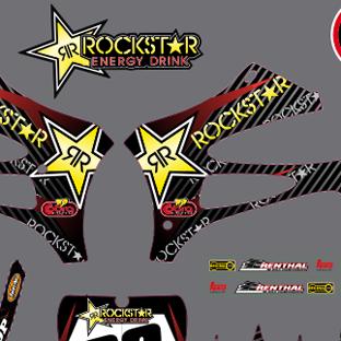 Cobra 50SR 2010 2012 Rockstar Kit