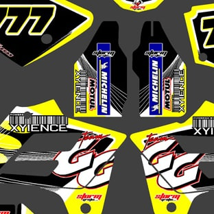 Gas Gas EC 02 06 Xyience Graphics Kit