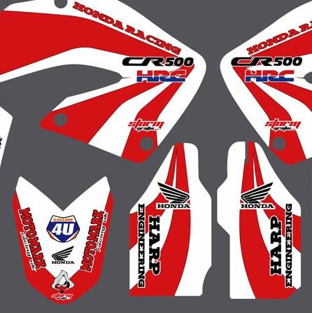 Honda Cr500 Hybrid Graphics Kit 2001