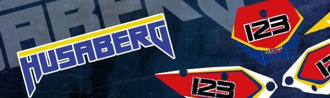 Husaberg Motocross Graphics
