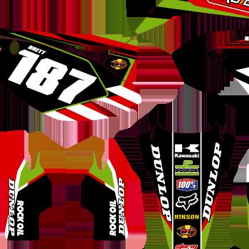 Kawasaki Kxf 250 2010 2012 Pro Circuit Kit