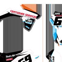 KTM 350 SXf 2011 Centurian Kit