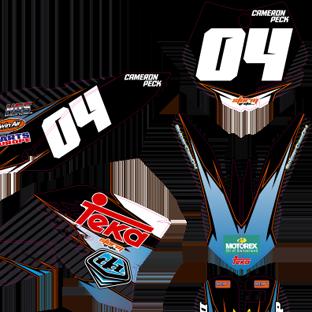 KTM 65 2009 2014 Cameron Peck Kit