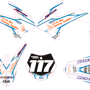 KTM 85 2013 2014 Arnold Kit