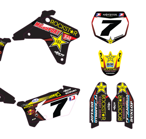 GDFK-00032 Suzuki Rockstar Team Kit