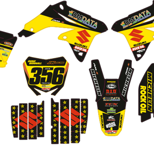 RMZ 450 08 2014 Rockstar Dm Data Kit