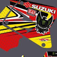 Suzuki RM 250 2005-2011 James Smith