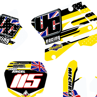 V Customs James Angel Suzuki RM85
