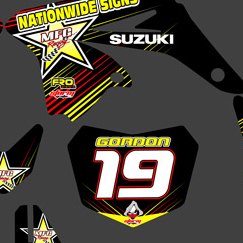 Suzuki RMZ 250F 2010-2011 Matt Gordon