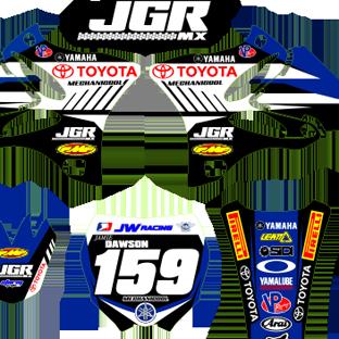 Yamaha YZ 125 250 09 2013 JGR 2013 Kit