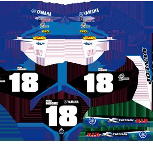 Yamaha YZ Reform Graphics Kit Neal Moore