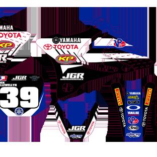 YZ 85 JGR Kit