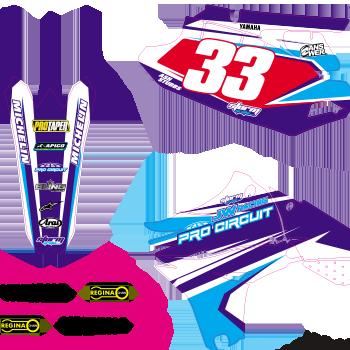 YZF 450 2013 Pro Circuit Kit