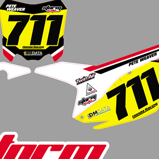 CRF 450 2013 14 Muscle Milk