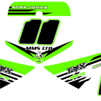 KX 85 2012 Number Boards Ross Johns