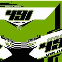 KXF 450 2013 Number Boards Jordan Johns