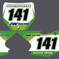 KXF250 04-05 Martin Fryer JW Racing