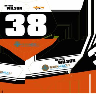 KTM 65 2009 20012 Number Boards