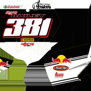 KTM 85 2006 2011 Number Boards