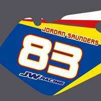 Suzuki RM 125 250 2003-2010 Jordan Saunders