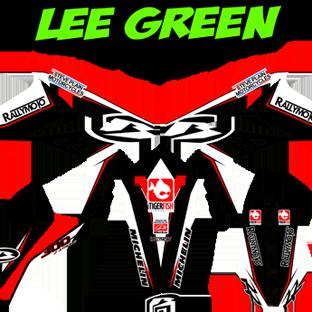 Beta 300 RR 2013 Kit Lee Green