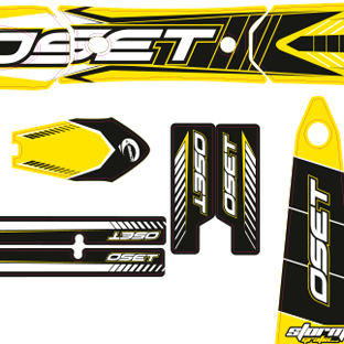 Oset 20 Custom Kit Yellow